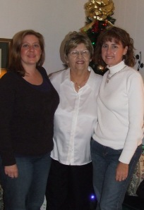 Me Lisa, and grandma