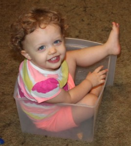 A phase where she wanted to get in everything and this drawer was a better fit than daddy's shoe.